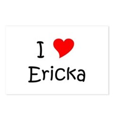 Cool Ericka Postcards (Package of 8)