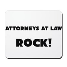 Attorneys At Law ROCK Mousepad