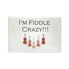 I'm Fiddle crazy!!! Rectangle Magnet