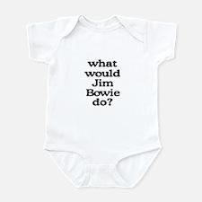 Jim Bowie Infant Bodysuit