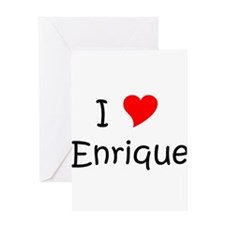 Cute Enrique Greeting Card