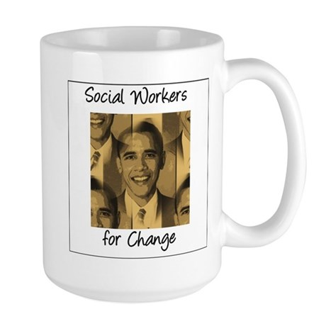 Social Workers for Change Large Mug
