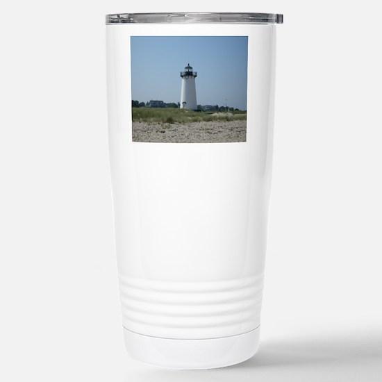 Edgartown Lighthouse Stainless Steel Travel Mug