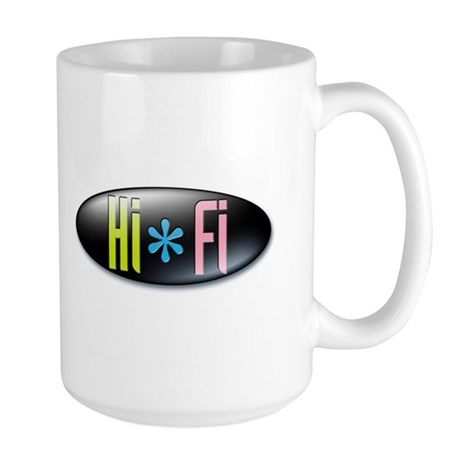"""Large Hi-Fi """"Double Shot"""" Mug"""