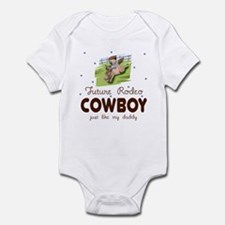 Future Rodeo Cowboy like Daddy Infant Bodysuit