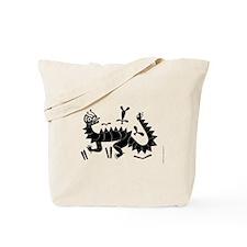 Moche Dragon Tote Bag