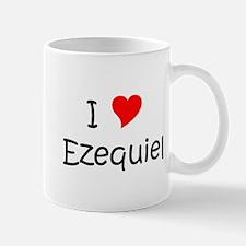 Cute I love ezequiel Mug