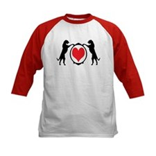 Tall Wolfhounds & Heart Tee