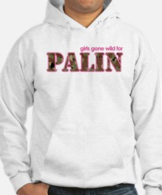 Girls gone wild for Palin Hoodie