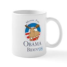 Moose for Obama Biden Mug