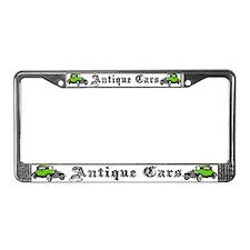 Antique Cars License Plate Frame