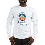 Moose for Obama Biden Long Sleeve T-Shirt