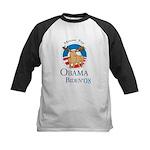 Moose for Obama Biden Kids Baseball Jersey