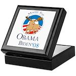 Moose for Obama Biden Keepsake Box