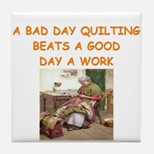quilting Tile Coaster