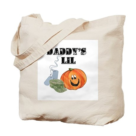 daddy's lil pumpkin Tote Bag