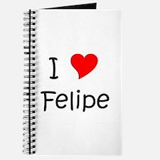 Cute Felipe Journal