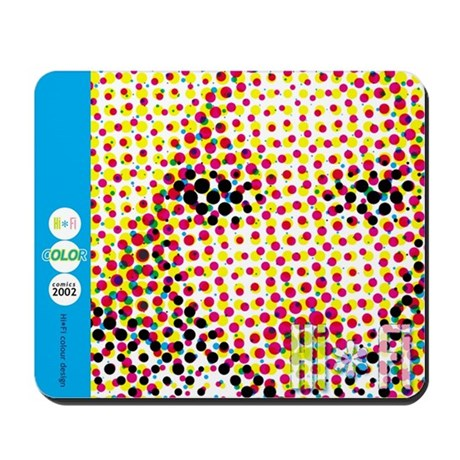 "Hi-Fi ""True Colors"" Mousepad"