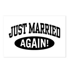 Just Married Again Postcards (Package of 8)