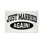 Just Married Again Rectangle Magnet