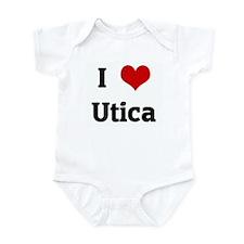I Love Utica Infant Bodysuit