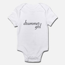Drummer Girl Infant Bodysuit