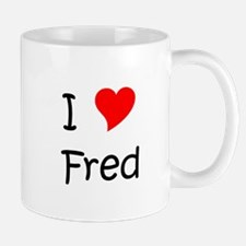 Cute Heart fred Mug