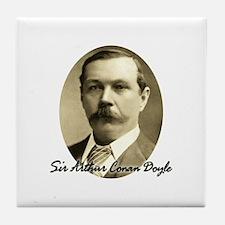 Sir Arthur Conan Doyle Tile Coaster