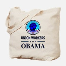 Union Workers Obama Tote Bag