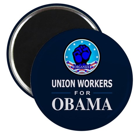 Union Workers Obama Magnet