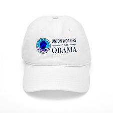 Union Workers Obama Baseball Cap
