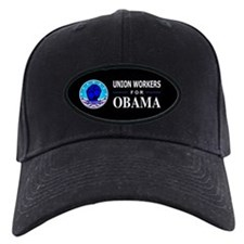 Union Workers Obama Baseball Hat