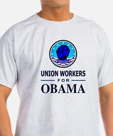 Union Workers Obama T-Shirt