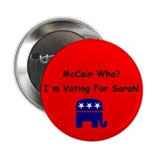 "McCain Who? 2.25"" Button (10 pack)"