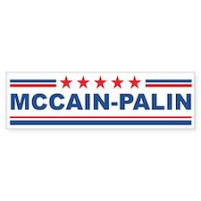 McCain-Palin (stars) Bumper Bumper Sticker