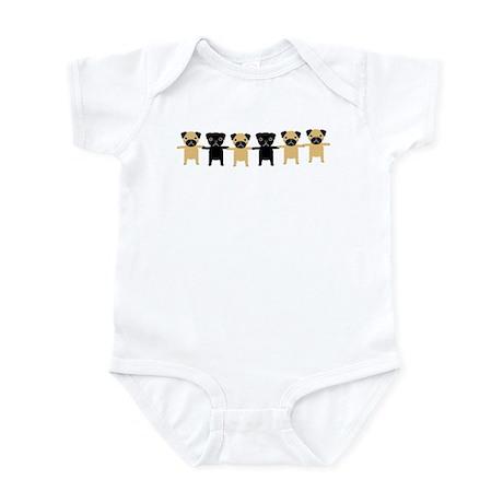 StringOPugs Infant Bodysuit