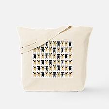 StringOPugs Tote Bag