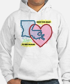 Show Your Heart to New Orleans Hoodie