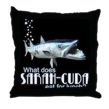 Sarah-Cuda's Lunch Throw Pillow