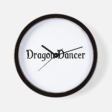 Dragon Dancer Wall Clock