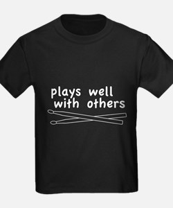 Plays Well (Drums) T