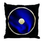 Sun Symbol(Bindu) Throw Pillow