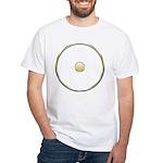 Sun Symbol(Bindu) White T-Shirt
