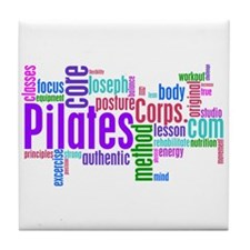 Pilates Corps Tile Coaster
