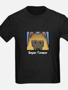 Anime Belgian Tervuren Kids Dark T Shirt