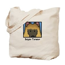 Anime Belgian Tervuren Tote Bag