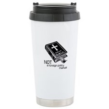 Not a Foreign Policy Manual Travel Mug