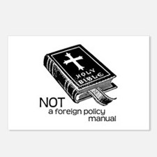 Not a Foreign Policy Manual Postcards (Package of