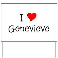 Genevieve Yard Sign