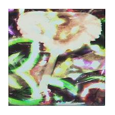 Magic Mushroom Abstract Tile Coaster